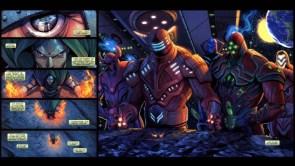 Dr Doom vs Celestials