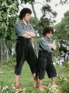 Frodo and Mini Frodo