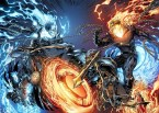 Ghost Rider vs Nega Ghost Rider