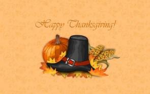 Happy Thanksgiving Wallpaper – Hat
