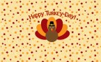 Happy Thanksgiving Wallpaper – chibi turkey