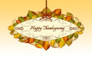 Happy Thanksgiving Wallpaper – ribbon