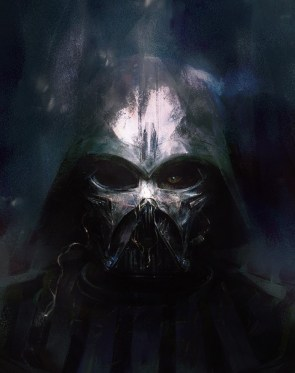 Melted Vader