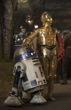 R2-D2 and his red handed friend R2-D2