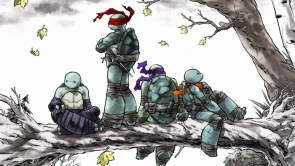 TMNT in a tree