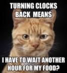 Turning clocks back