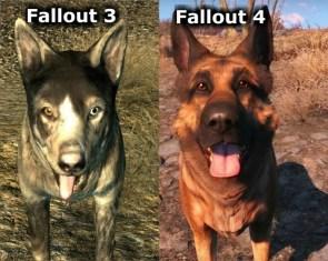 fallout dog comparison