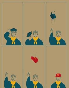 graduation hat prize
