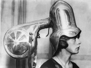 silver hair machine