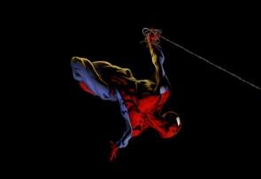 spider-man in motion