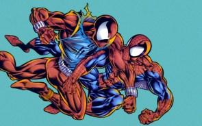 spider-man vs scarlet-spider