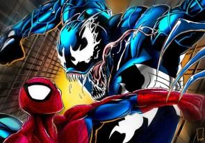 spider-man vs squiggle venom