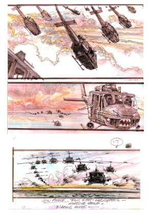 Apocalypse Now Storyboards