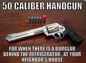 50 Caliber Handgun