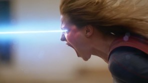 Angry Supergirl