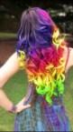 Awesome Rainbow Hair