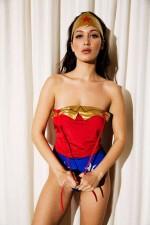 Bella Hadid as Wonder Woman