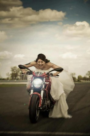 Biking Bride