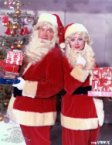 Bob Hope Claus and Lucy Claus