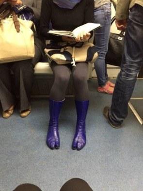 Camel Toe Boots