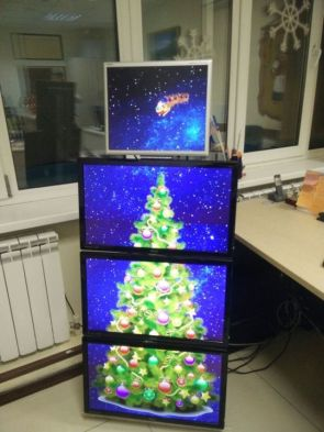 Christmas Monitors
