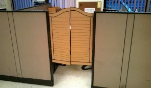 Cubical Saloon Doors