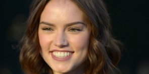 Daisy Ridley's big smile
