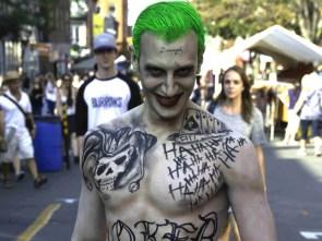 Damaged Joker Cosplay