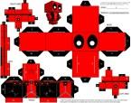 Deadpool Cubeman