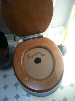 Expert Mode Toilet