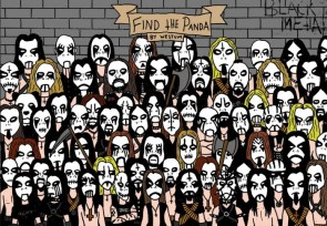 Find the panda – metal edition