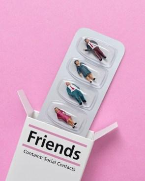 Acquaintances, a gateway drug to friends