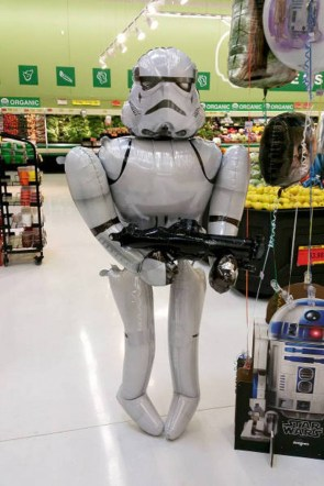 Inflatable Storm Trooper