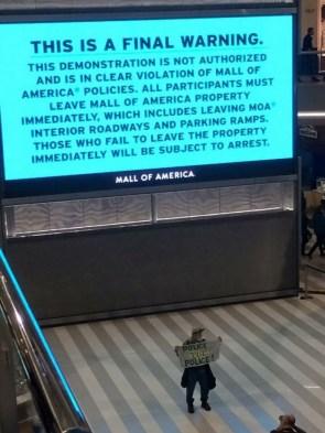 Mall of America Warning