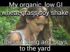 My Organic soy shake