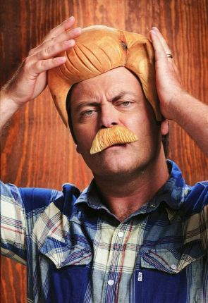 Nick Offerman is a man of wood