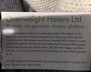 Overweight Haters, Ltd