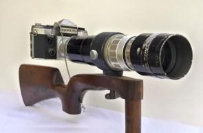 Praktica STL-1 with Voss 400mm lens