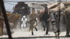 Rey and Finn on a run