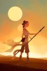 Rey in her desert