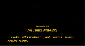 Star Wars 7 Scroll