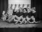The Ed Sullivan Show Dancers, New York, 1955