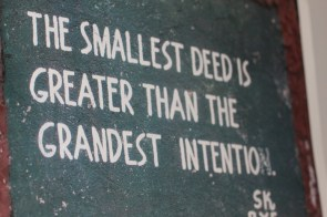 The Smallest Deed