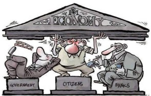 The Three Pillers of the US Economy