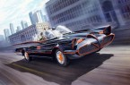 The classic Batmobile