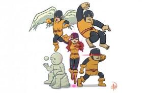 The original X-mans