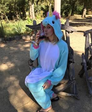 Unicorn Wine Drinker
