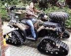 armed and tracked atv