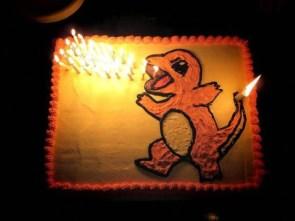 charzard cake