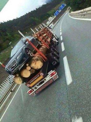 lumber car carrier
